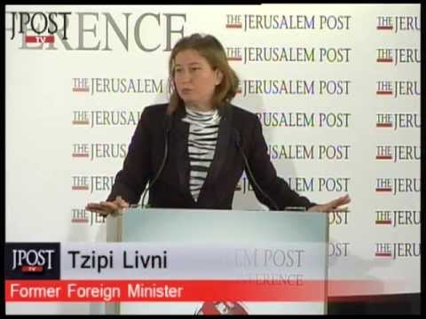 Livni: The world is making a mistake on settlements