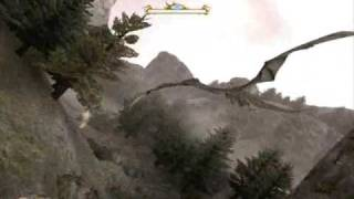 RIDING SAPHIRA IN ''ERAGON'' (PC GAME)