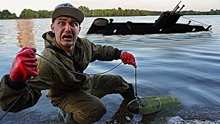 Самая гигантская жуткая находка была найдена там, где затонула подводная лодка, с помощью поискового