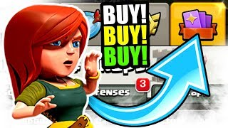 BUYING EVERY PACK IN THE STORE!? - Clash Of Clans