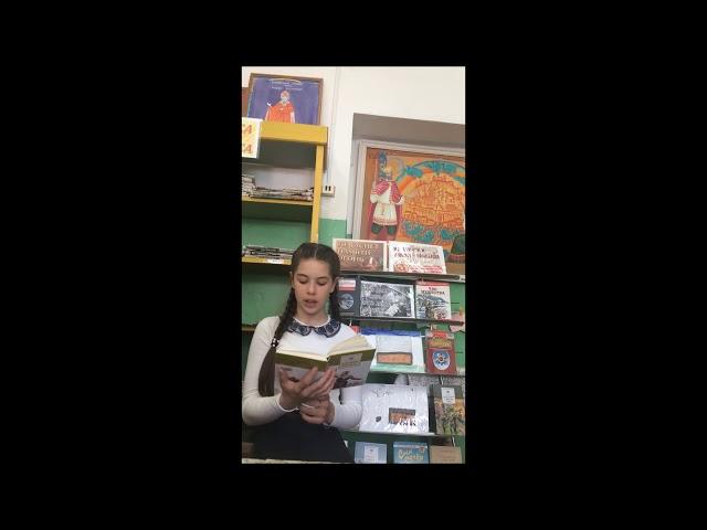 Изображение предпросмотра прочтения – АнастасияМожаева читает произведение «Майор привез мальчишку на лафете» К.М.Симонова