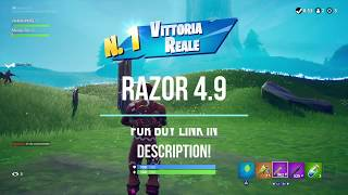 FORTNITE RAZOR 4.9 BEST AIMBOT AIM ASSIST ABUSE CRONUSMAX SCRIPT PS4 XBOX ONE PC