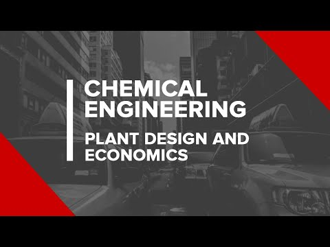 Chemical Engineering - Plant Design And Economics