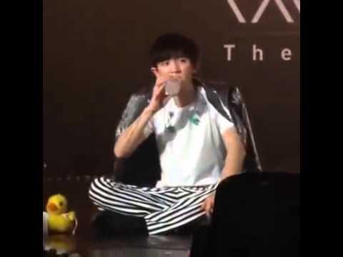 คอนเสิร์ต exo 2015  ชานยอลน่ารัก