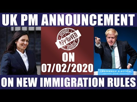 UK IMMIGRATION UPDATES 2020 | Boris Johnson | Brexit | Study In UK | Study Abroad | Student Visa