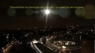 Massor fyrverkerier hela horisonten! Nyår 2012-2013 Sthlm Rågsved + toppen överblick + bra ljud