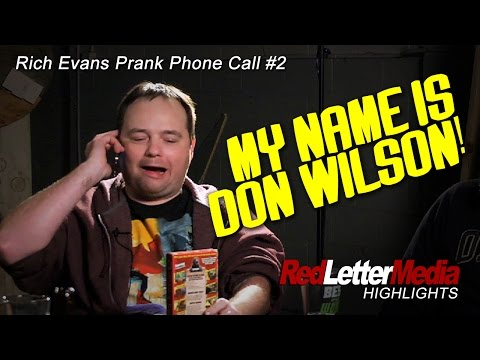 RLM Highlights: Rich Evans Prank Call #2