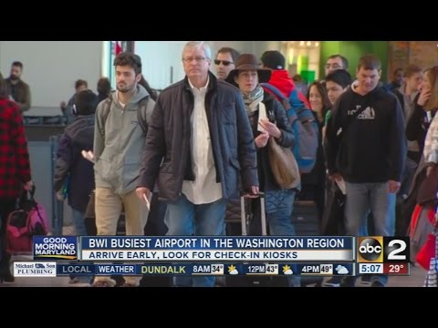 BWI is the busiest airport in the Washington region