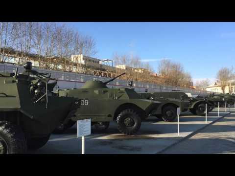 Музей военной техники УГМК в В.Пышме