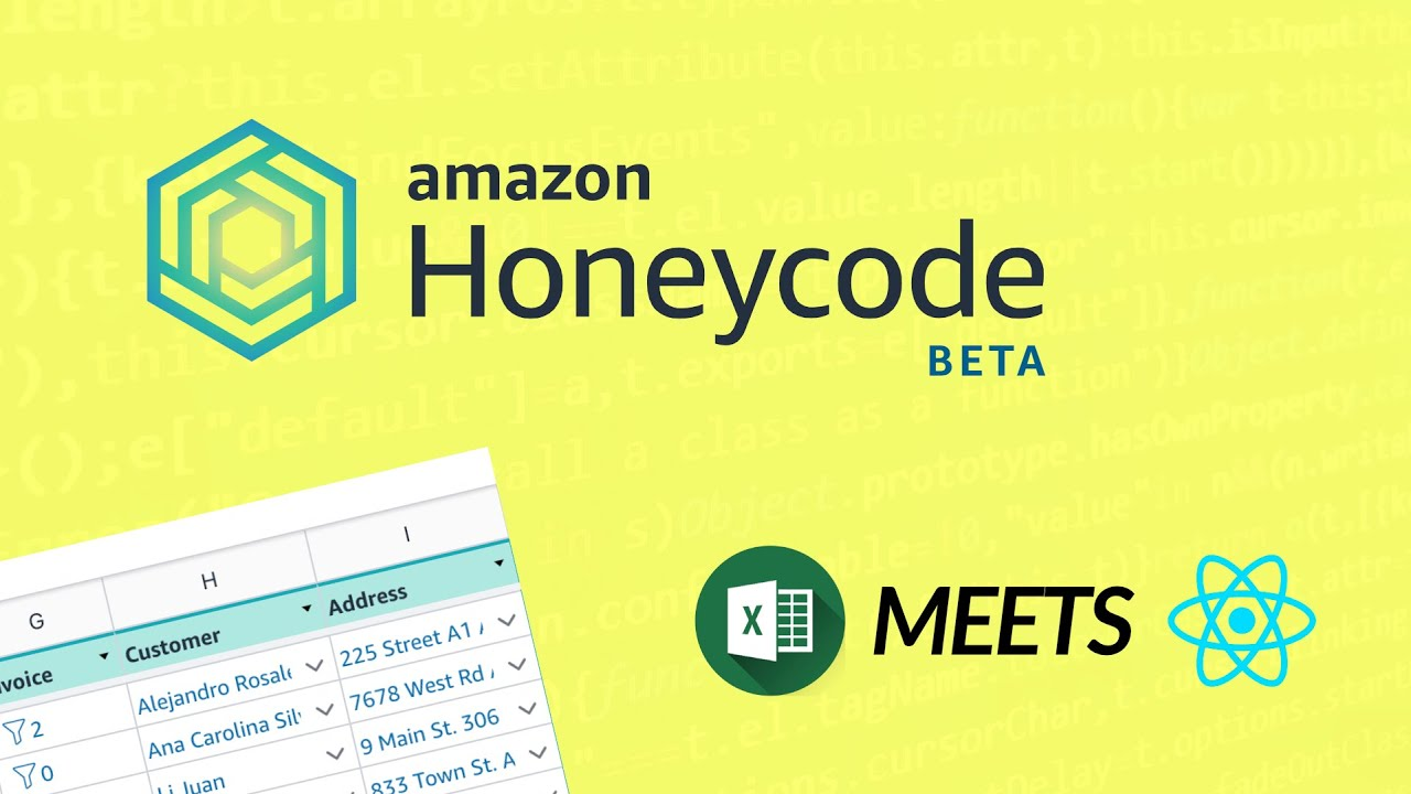 """AWS HoneyCode Tutorial: """"No Code"""" Web and Mobile Apps"""