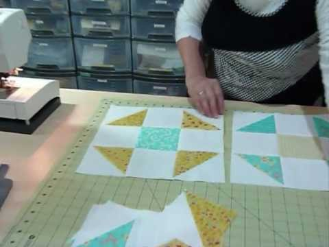 How To Make A Shoo Fly Block Using 5 Squares Quilting Tips