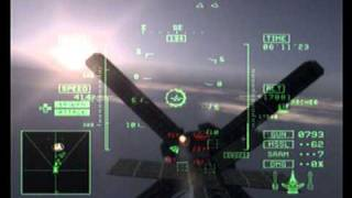 Ace Combat 5 PS2 Gameplay Final Mission The Unsung War