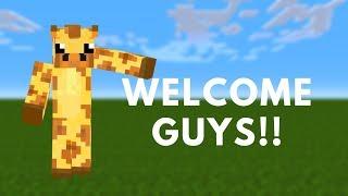 Minecraft Giraffe - Official Intro