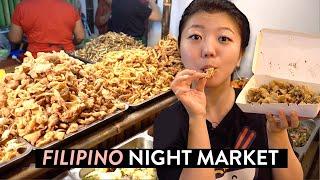 TASTY FILIPINO Night Market FOOD ?! Pampanga, Philippines Vlog