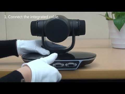 Huawei TE30 Videoconferencing Endpoint Cable Connection Guide Video