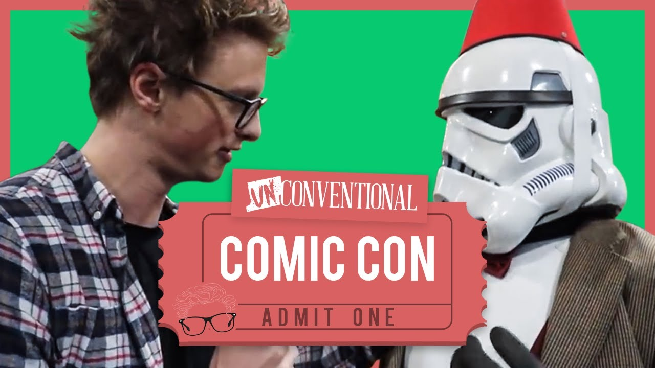 What Actually Happens At ComicCon? | UnConventional