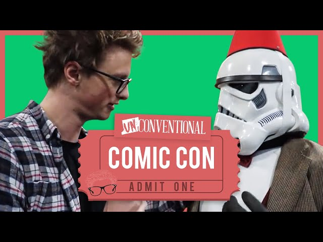 What Actually Happens At ComiCon? | UnConventional