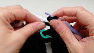 Смена нити при  вязании крючком: видеоурок для начинающих