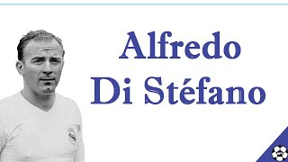 """""""di stéfano was a great player and saw things others didn't see. he knew the game back to front always physically mentally well-prepared. def..."""