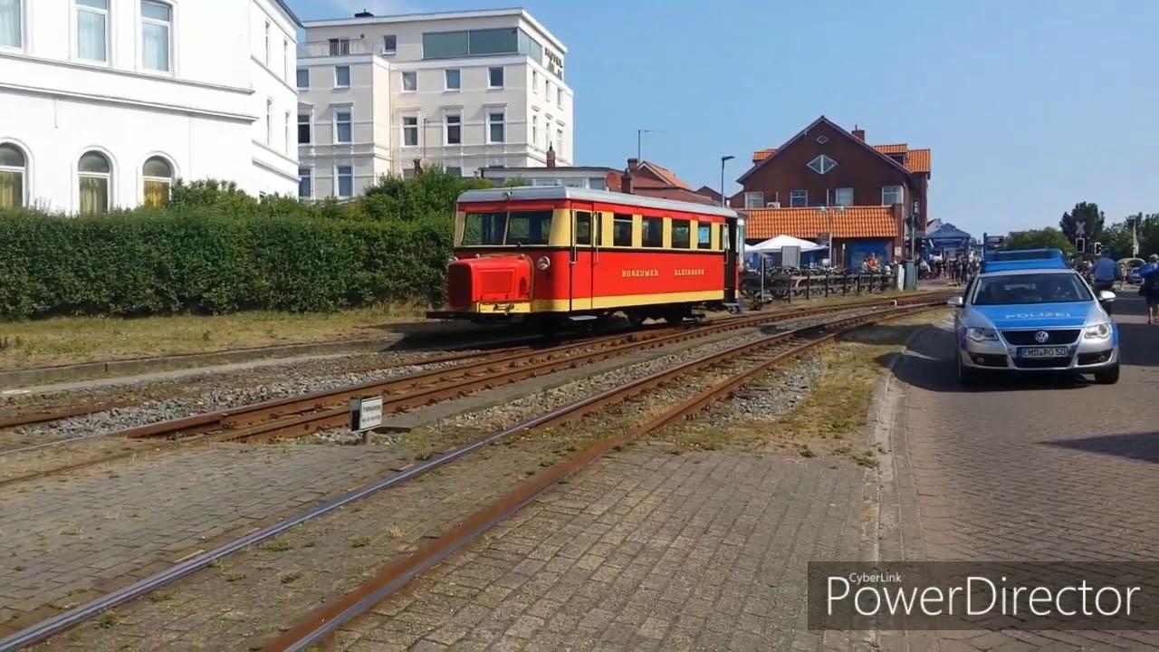 Borkumer Kleinbahn Unfall