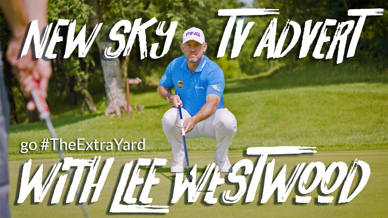 NEW SKY TV ADVERT: Going The Extra Yard with Your Golf Travel & Lee Westwood