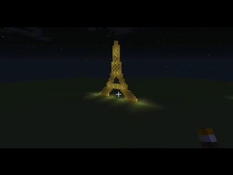 Minecraft download eiffel tour