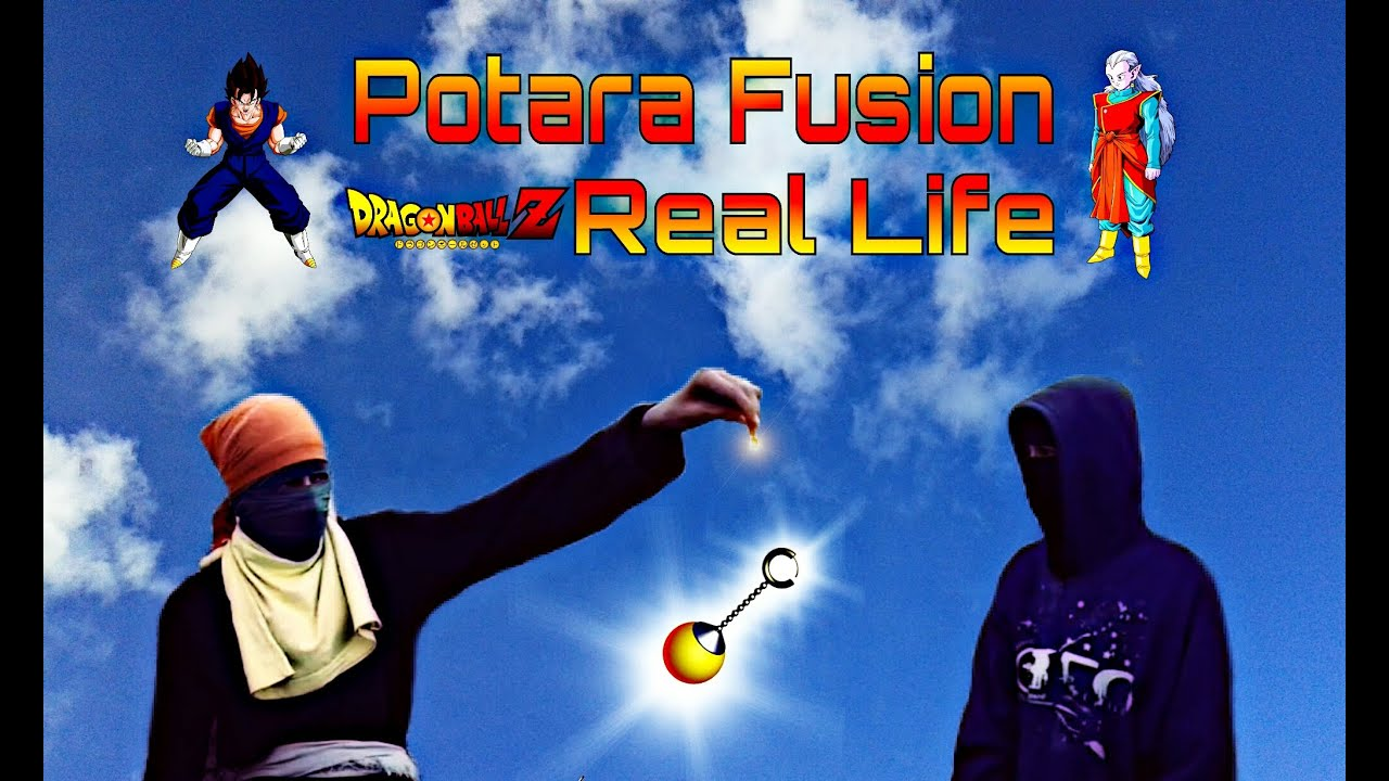 Potara Fusion (Real Life) - YouTube