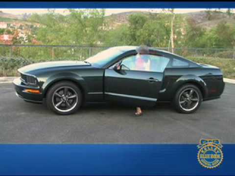 2008 ford mustang bullitt review kelley blue book youtube. Black Bedroom Furniture Sets. Home Design Ideas
