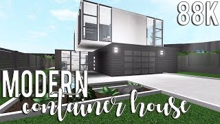 ROBLOX | Bloxburg: Modern Container House 88k + pop-up giveaway