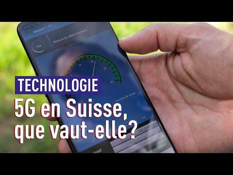 5G en Suisse: le premier test