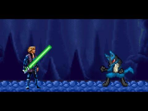 Lucario vs Luke Skywalker