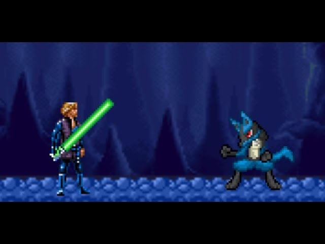 Lucario vs Luke Skywalker