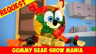 """Mirror Mirror"" Gummibär made of Real Gummy Bears! - Gummy Bear Show MANIA"
