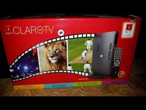 IBALL CLARO TV18 TV TUNER CARD DRIVERS FOR WINDOWS 10