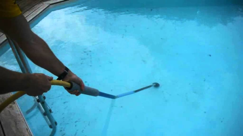 Swimming Pool Silt Vacuum Get Immediately Rid Of Very Thin Dust Youtube