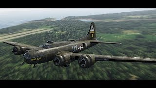 The Best Plane The Game (In My Opinion) B-17 Game Play