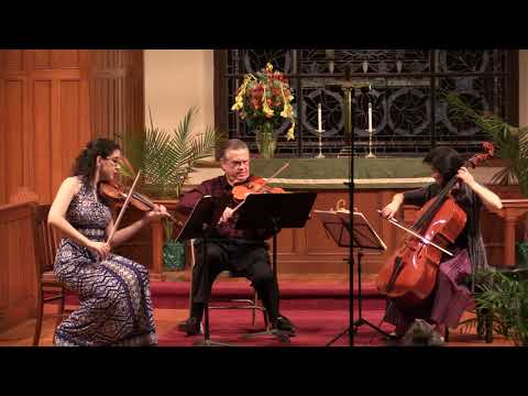 Beethoven String Trio in D major, op. 9 no. 2