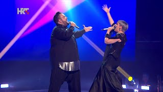 "Nina i Jacques: ""Euphoria"" - The Voice of Croatia - Season1 - Live6"
