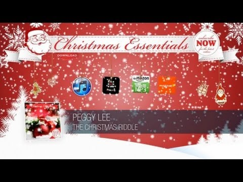 Peggy Lee - The Christmas Riddle // Christmas Essentials mp3