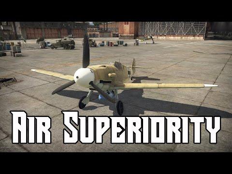 Air Superiority (NA Version) - German Units War Thunder Gameplay (Ace Match)