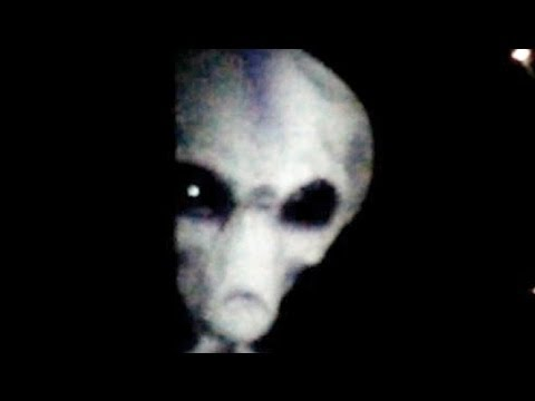 Real alien caught on tape youtube