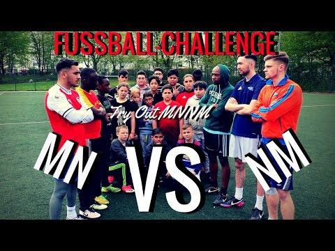 MN vs NM   FUSSBALL CHALLENGE!!! | Try Out MNNM