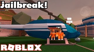HELICOPTER EVACUATION! // Roblox Jailbreak