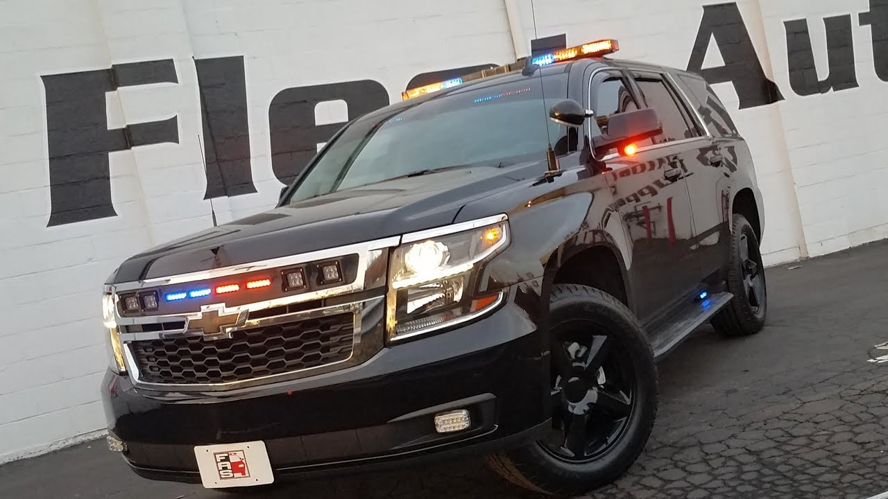 CHEVROLET TAHOE POLICE PACKAGE / FLEET AUTO SUPPLY - YouTube