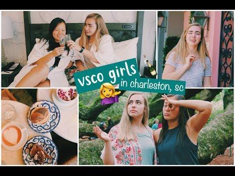 Vsco Girls Trip To Charleston   Charleston, Sc Travel Vlog