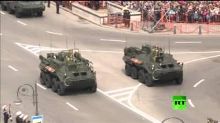 روسيا تحتفل في أقصى شرقها بعيد النصر