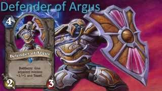Defender of Argus card sounds in 12 languages -Hearthstone✔