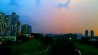 Malaysia from Bukit Jalil Golf & Country Resort Kuala Lumpur- May 7, 2013 7:11 PM