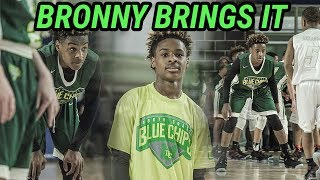Bronny James JR Shows Off HANDLES And RANGE In Tough Loss! FULL HIGHLIGHTS