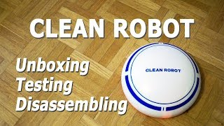 $20 Robot Vacuum Cleaner full review with testing and disassembling